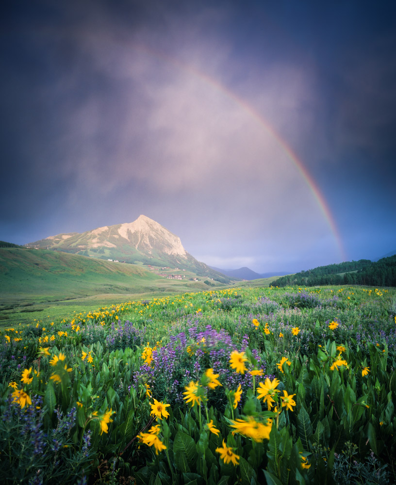Mt Crested Butte Rainbow